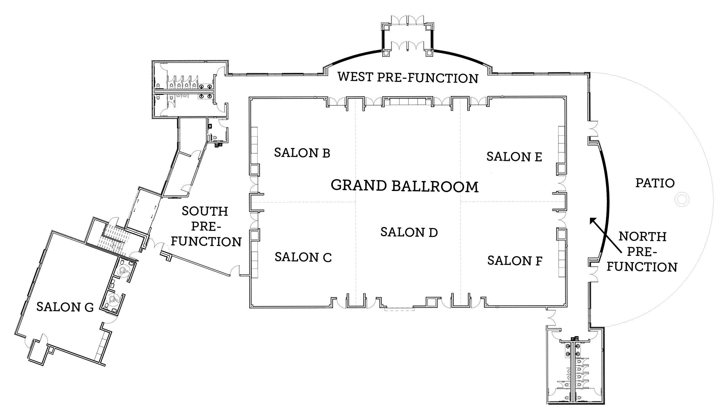 Hotel Convention Space Layout